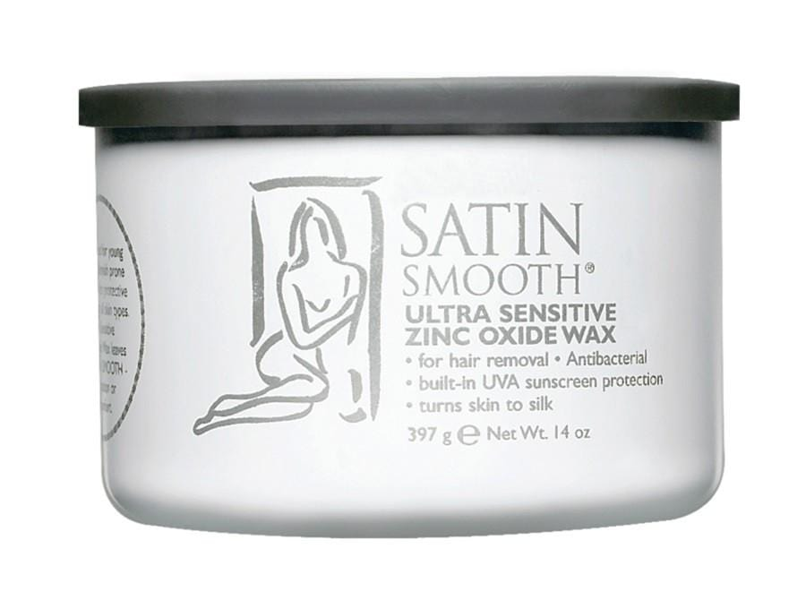 SATIN SMOOTH Ultra Sensitive Zinc Oxide Wax  397g