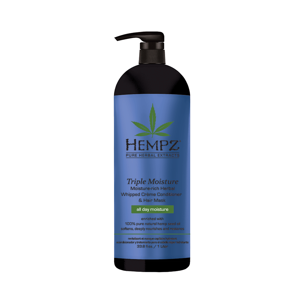 HEMPZ Triple Moisture Daily Herbal Whipped Crème Conditioner & Hair Mask