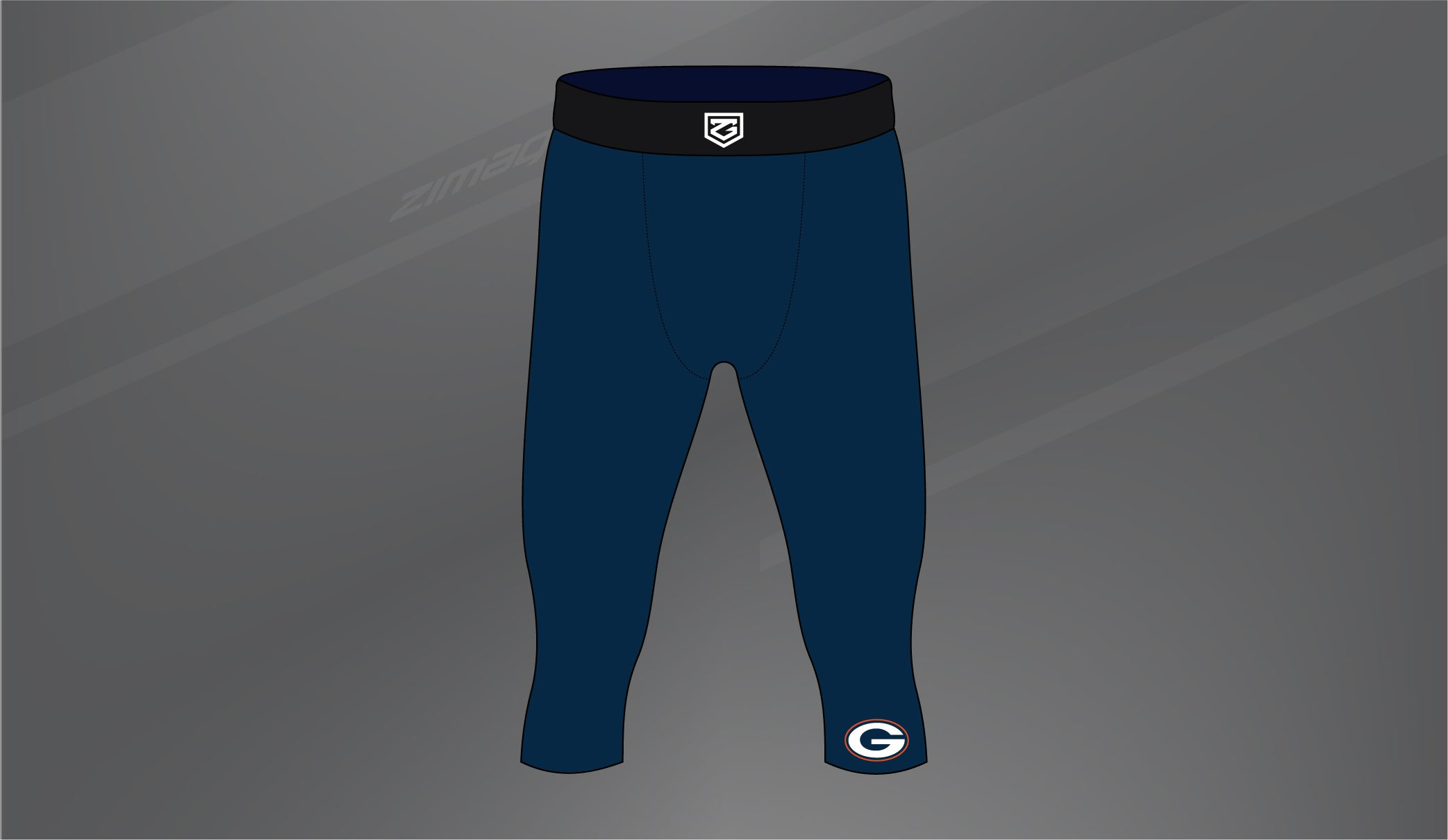 2020 Greeley Boys 3/4 Compression Leggings