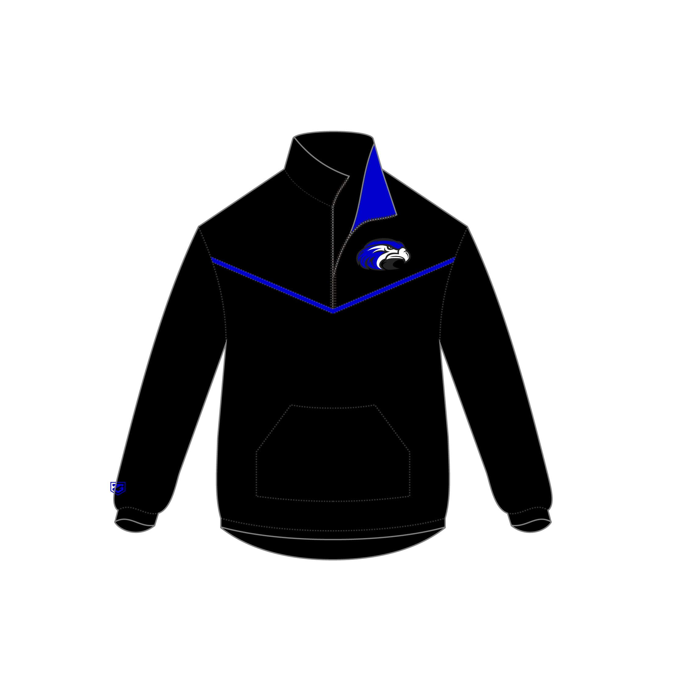 Shorter Lacrosse 1/4 Zip Jacket