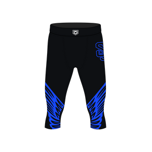 Shorter Lacrosse Compression Leggings