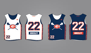 2020 Greeley Boys Game Reversible Jersey