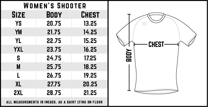 2021 FCA Upstate Women's Shooting Shirt