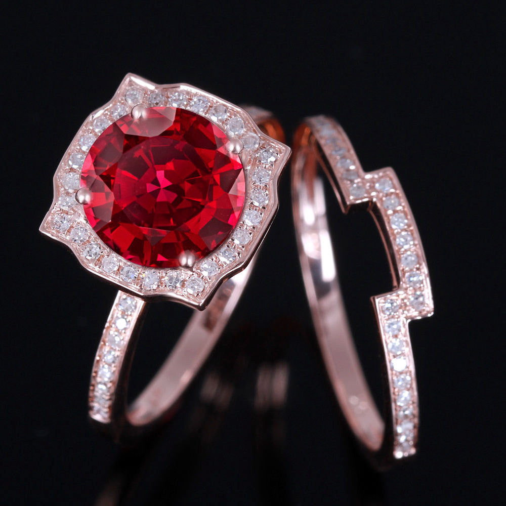 wedding for ruby blood rings pinterest images diamond engagement best on alternative
