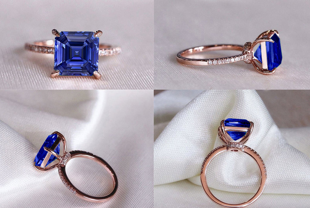 safire engagement sale diamond j at halo purple blue l sapphire id oval ring for rings jewelry