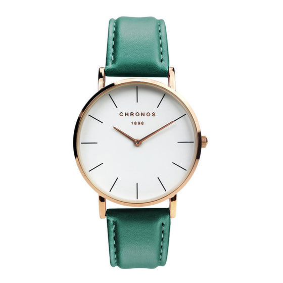 Cronel Leather Watch