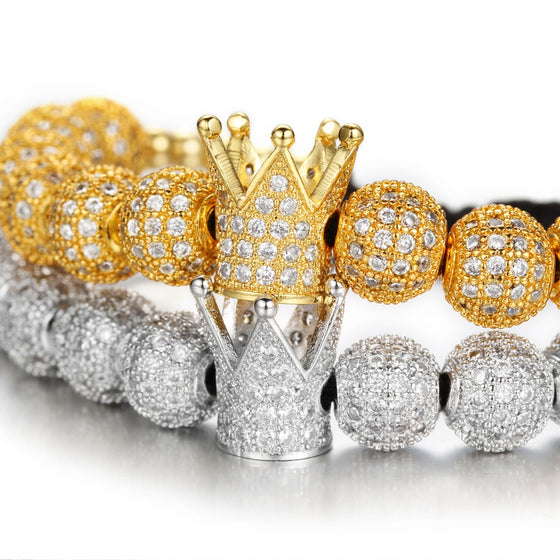 Crown Bling bracelet