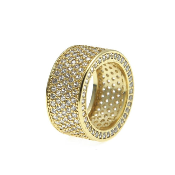 Luxury Crystal Gold Ring