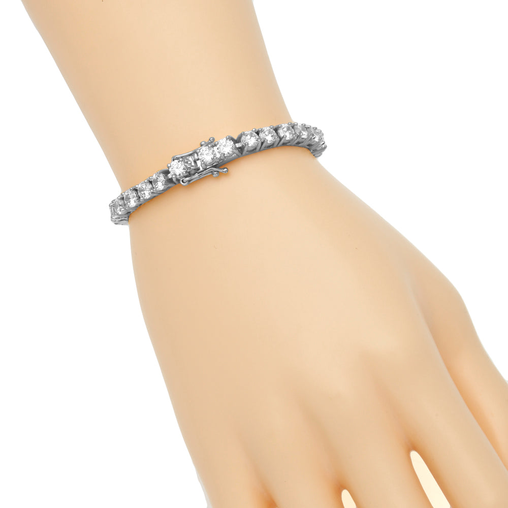 Luxury Link Wrist Ice Jewel Bracelet