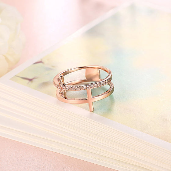 Ricjon Rose Gold/Gold Ring
