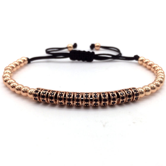 Luxury 4MM Beads Macrame Bracelet