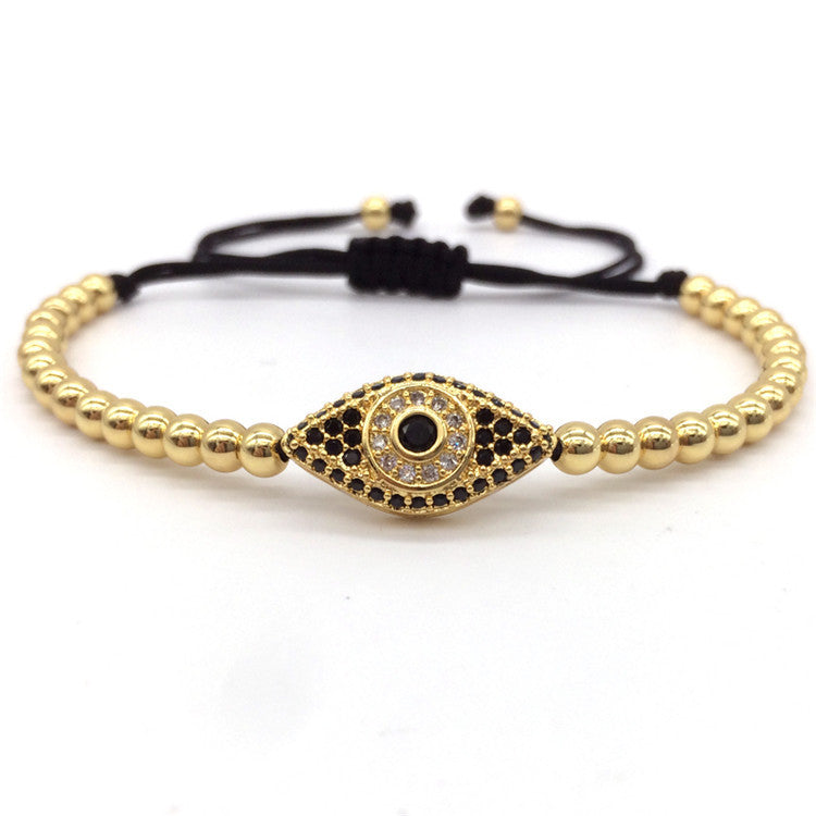 Evil Eye Braided Macrame Bracelets