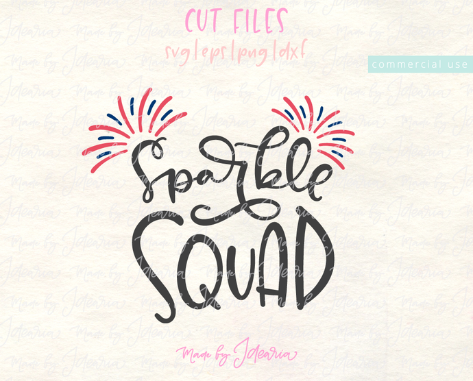 Free Svg Files: Sparkle Squad