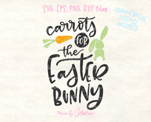 Carrots for the Easter Bunny Svg File
