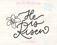 He is Risen Svg File