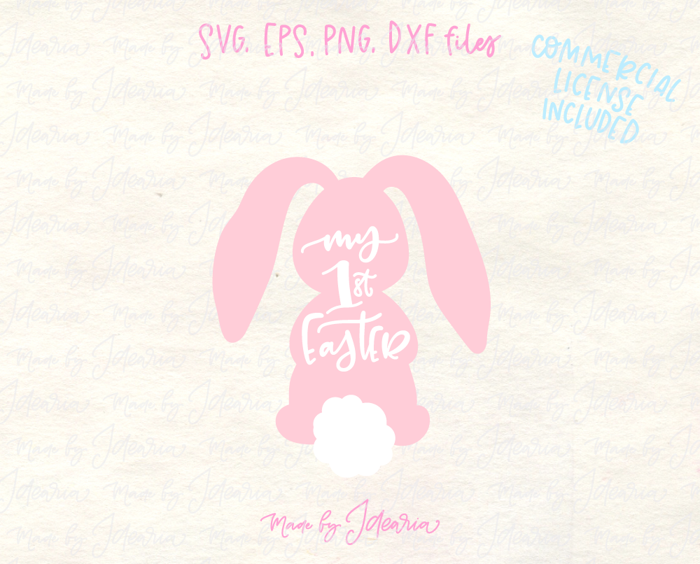 My First Easter Svg File
