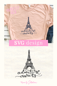 Paris Eiffel Tower Svg
