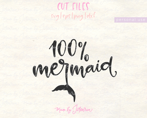 100 % Mermaid Svg