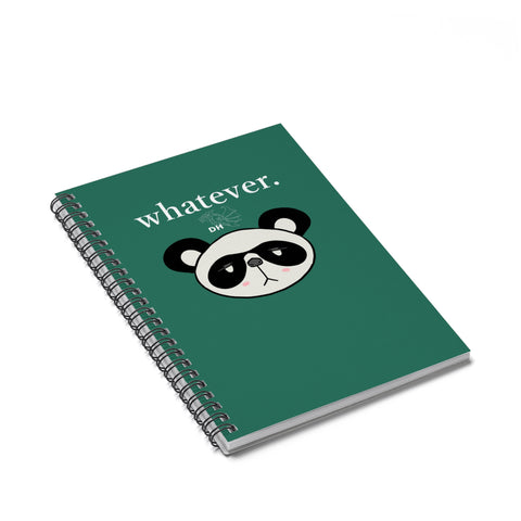 Whatever Pan Pan Spiral Notebook - Ruled Line