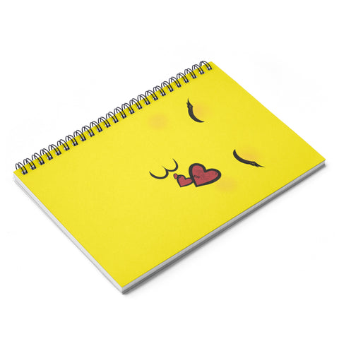 Pucker Up Spiral Notebook - Ruled Line