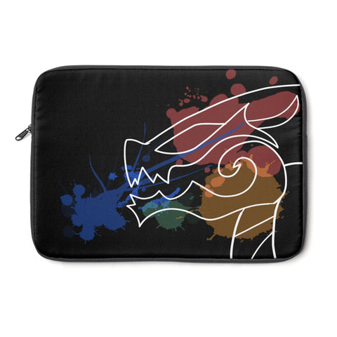 Black Dragon Art Laptop Sleeve