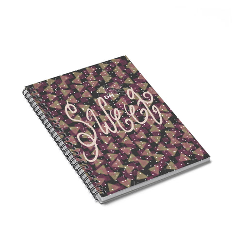 Ice Cream Cake Sprinkles Spiral Notebook - Ruled Line