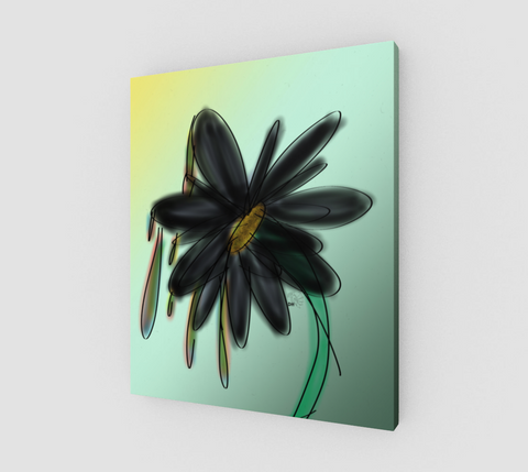 Artful Flower canvas