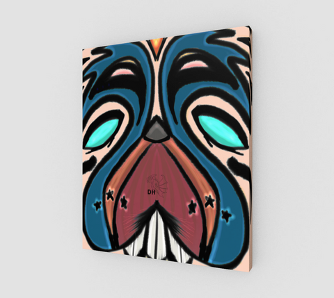 Mad Dog canvas