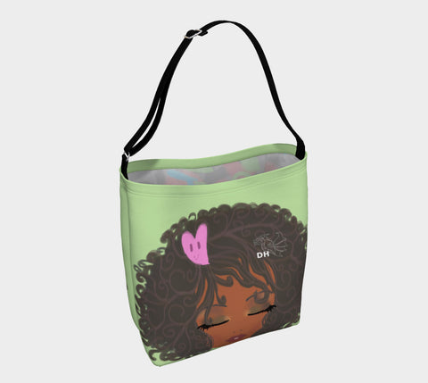 Curly Girl Day Tote