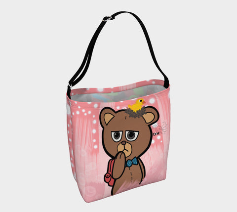 Wondering Bear Day Tote