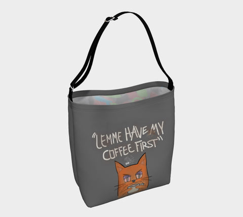 Coffee First Day Tote