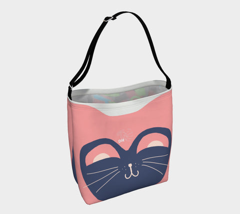 Kitty Pink Day Tote