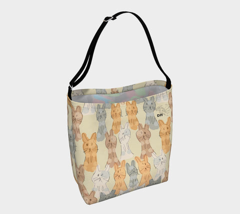 Luv You Bunny Much Day Tote