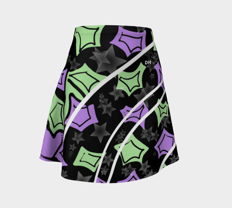 Out Of This World Flare Skirt