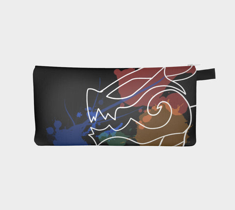 Black Dragon Art Carry-All Pouch