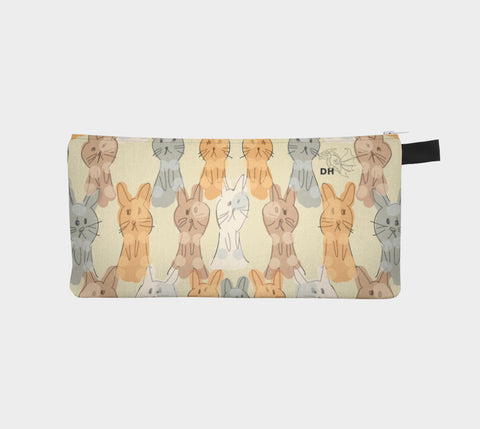 Luv You Bunny Much Carry-All Pouch