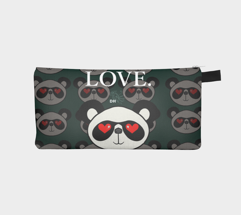 Love Pan Pan Carry-All Pouch