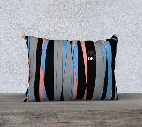 "Candy Stripes 20"" x 14"" Pillow Case"