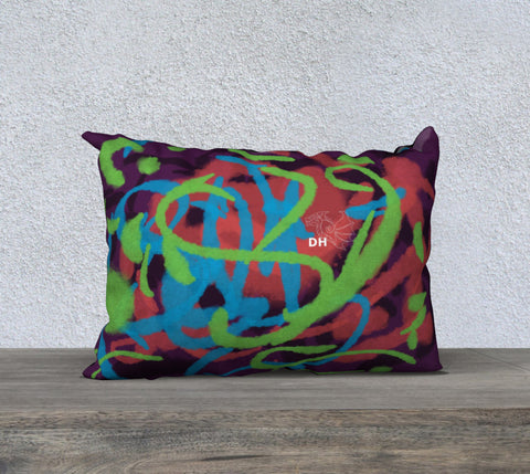 "Art Is Life 20"" x 14"" Pillow Case"