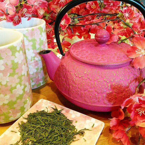 SAKURA CHERRY BLOSSOM TEA NOW IN STOCK!