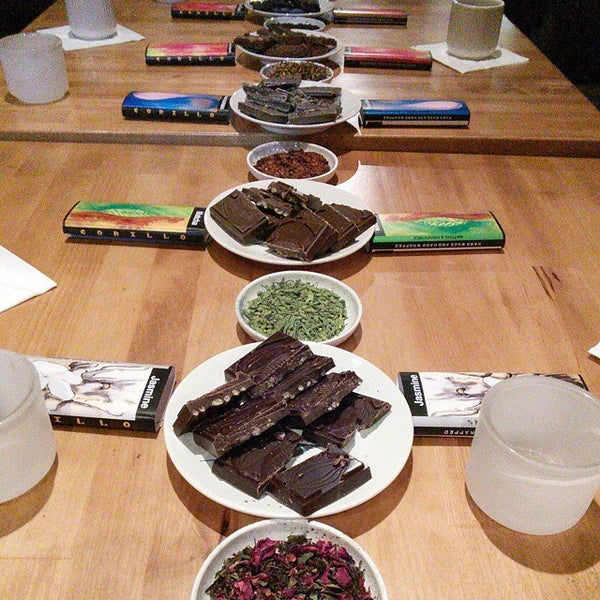 TEA and CHOCOLATE PAIRING - JUNE 10