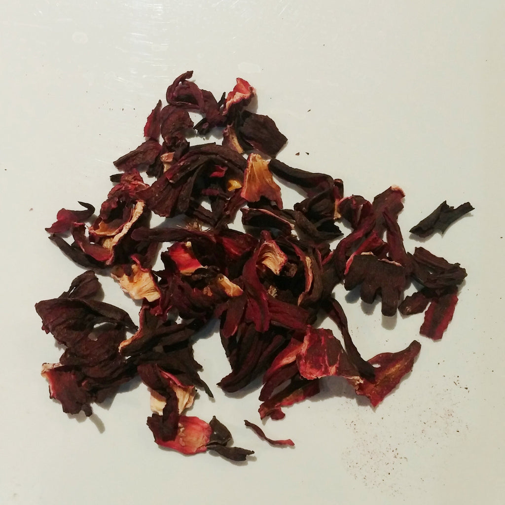 Hibiscus - Organic - 70g  Packaged in a bag, not a tin.