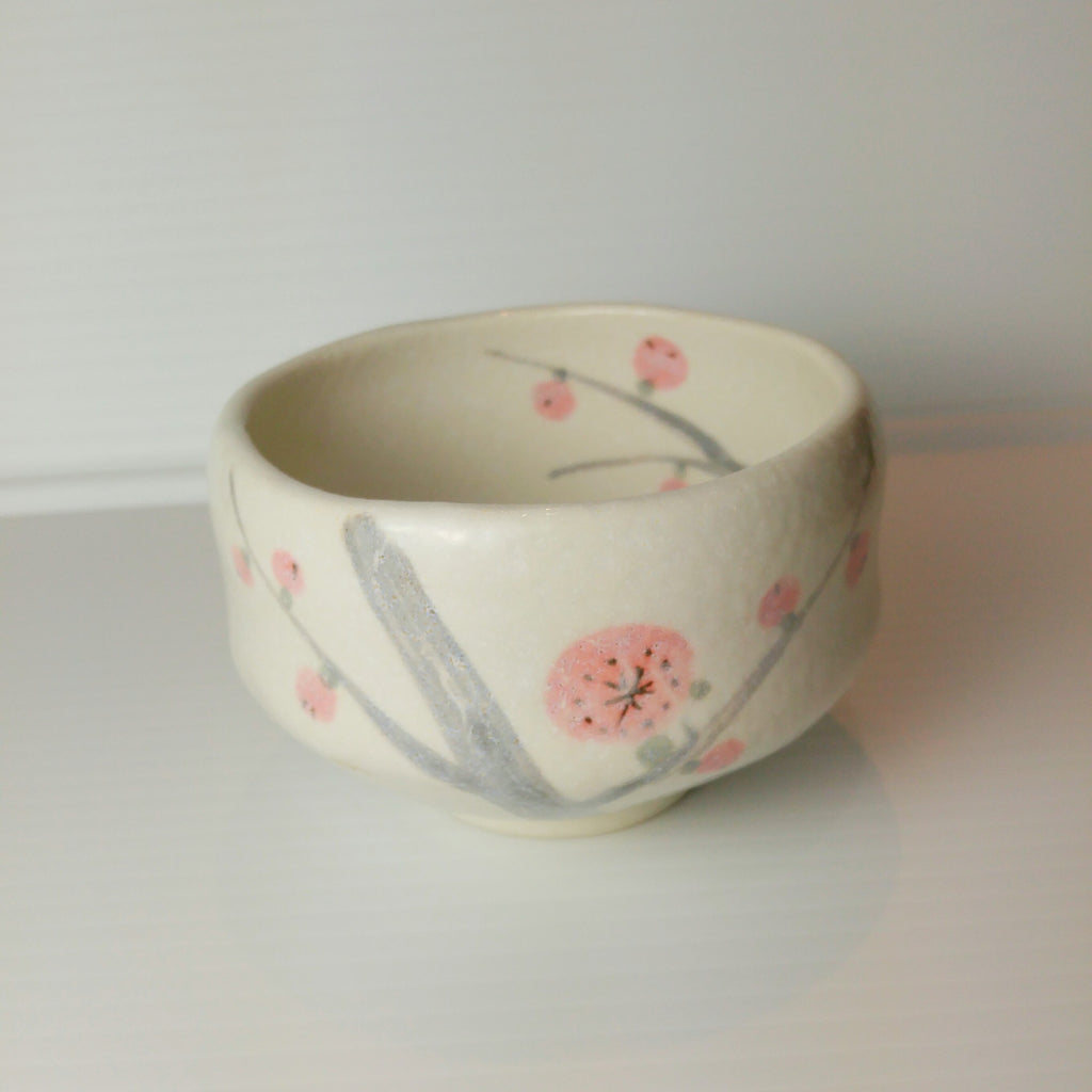 Japanese Tea Cup - Cherry Branch