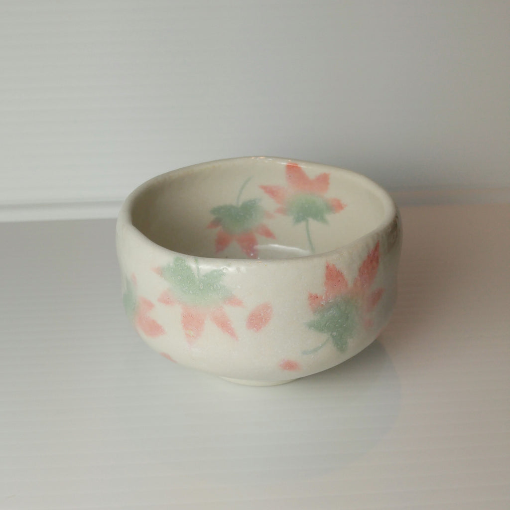 Japanese Tea Cup - Falling Leaves