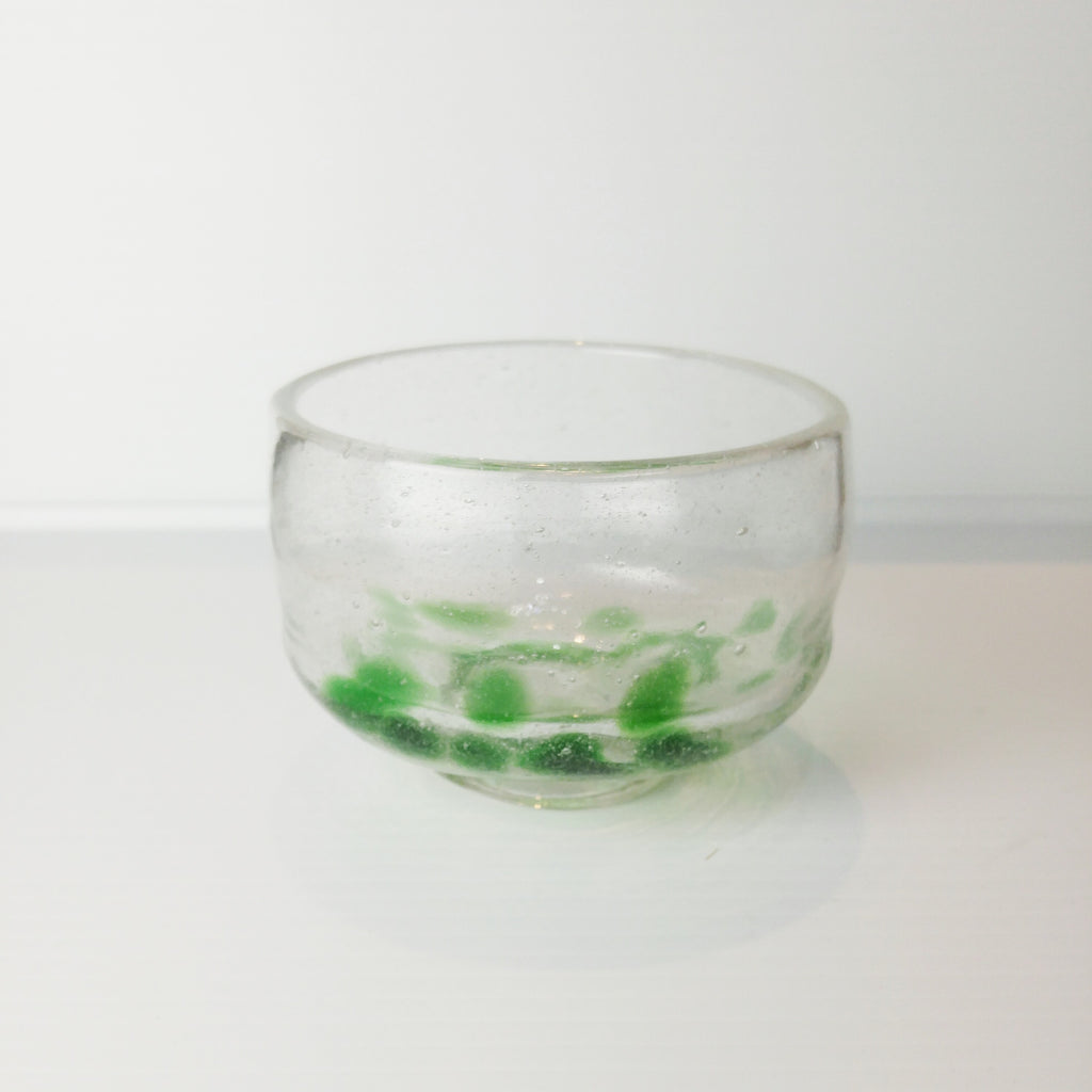 Matcha Bowl - Glass Green