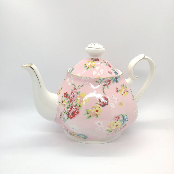 Ceramic Teapot - Pretty in Pink