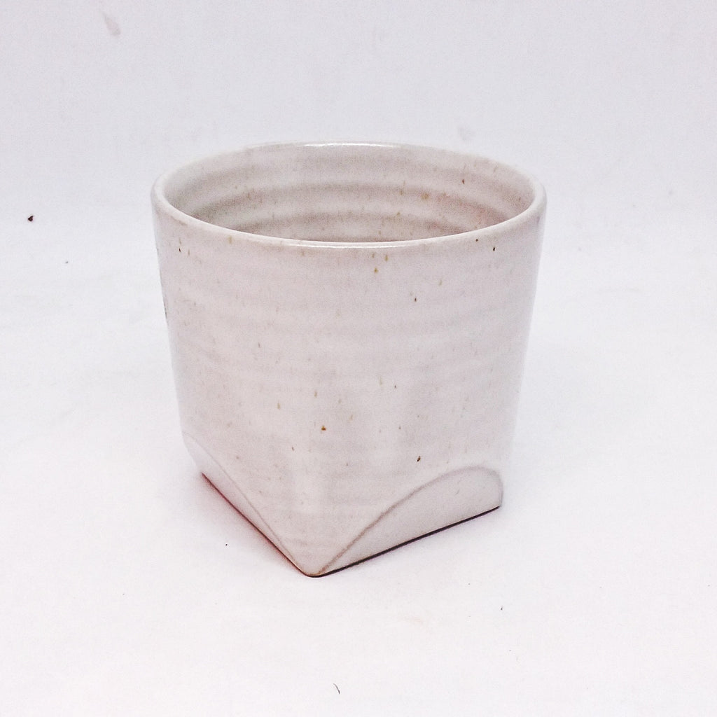 Japanese Tea Cup - White Cut