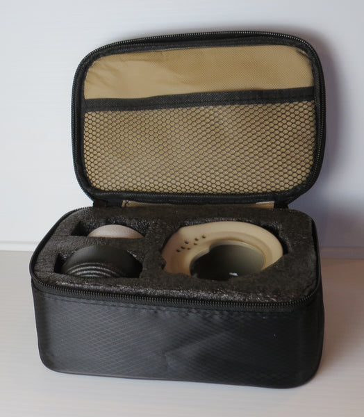 Travel Gongfu Tea Set - Black w Carrying Case