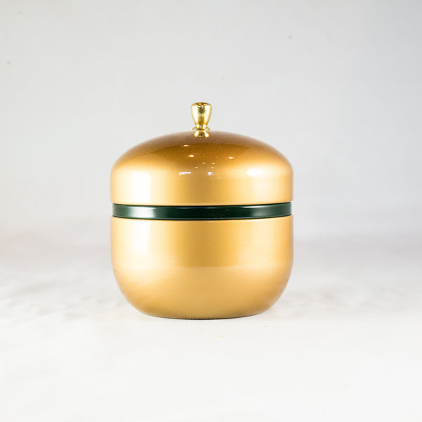 Tea Container - Golden