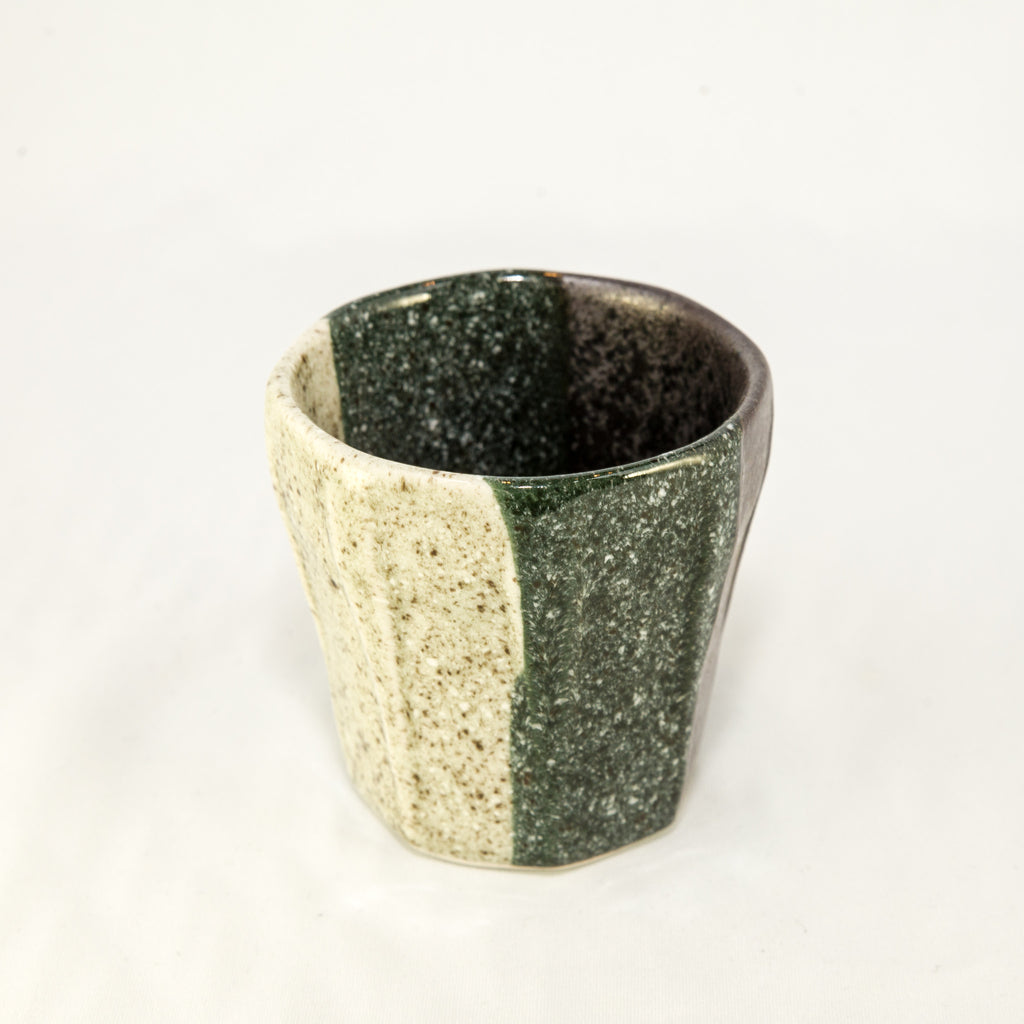 Japanese Tea Cup - Tri-Color